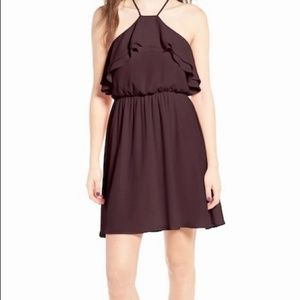 NWT Lush Ruffle Blouson Cocktail Dress, Size S